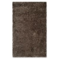 Safavieh Toronto 3-Foot x 5-Foot Shag Accent Rug in Taupe