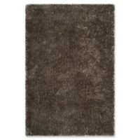 Safavieh Toronto 4-Foot x 6-Foot Shag Area Rug in Taupe