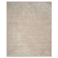 Safavieh Ultimate 8-Foot x 10-Foot Shag Area Rug in Sand/Ivory