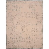 Safavieh Brilliance Coinage 6-Foot 7-Inch x 9-Foot 2-Inch Area Rug in Cream/Light Blue