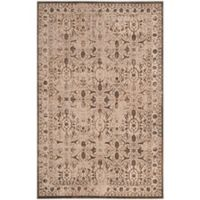 Safavieh Brilliance Coinage 5-Foot x 6-Foot Area Rug in Cream/Bronze