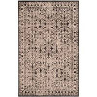 Safavieh Brilliance Coinage 4-Foot x 6-Foot Area Rug in Cream/Black