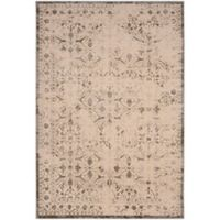 Safavieh Brilliance Coinage 6-Foot 7-Inch x 9-Foot 2-Inch Area Rug in Cream/Grey