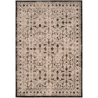 Safavieh Brilliance Coinage 6-Foot 7-Inch x 9-Foot 2-Inch Area Rug in Cream/Black