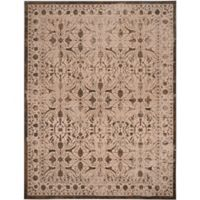 Safavieh Brilliance Coinage 8-Foot x 10-Foot Area Rug in Cream/Bronze