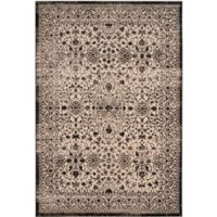 Safavieh Brilliance Filigree 9-Foot x 12-Foot Area Rug in Cream/Black
