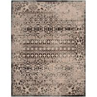 Safavieh Brilliance Vintage 9-Foot x 12-Foot Area Rug in Cream/Dark Grey
