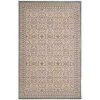 Safavieh Brilliance Medallions 4-Foot x 6-Foot Area Rug in Cream/Sage