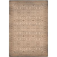 Safavieh Brilliance Medallions 6-Foot 7-Inch x 9-Foot 2-Inch Area Rug in Cream/Bronze