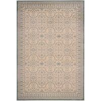Safavieh Brilliance Medallions 9-Foot x 12-Foot Area Rug in Cream/Sage