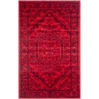Safavieh Adirondack Traditional Floral 2-Foot 6-Inch x 4-Foot Accent Rug in Red