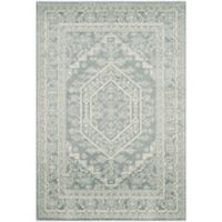 Safavieh Adirondack Traditional Floral 3-Foot x 5-Foot Accent Rug in Slate