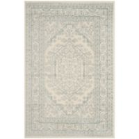 Safavieh Adirondack Traditional Floral 4-Foot x 6-Foot Area Rug in Ivory
