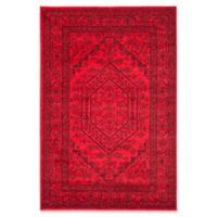 Safavieh Adirondack Traditional Floral 5-Foot x 7-Foot 6-Inch Area Rug in Red