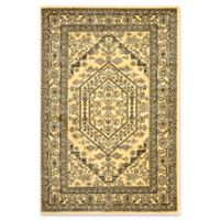 Safavieh Adirondack Traditional Floral 5-Foot x 7-Foot 6-Inch Area Rug in Gold