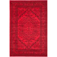 Safavieh Adirondack Traditional Floral 6-Foot x 9-Foot Area Rug in Red