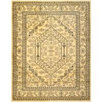 Safavieh Adirondack Traditional Floral 8-Foot x 8-Foot 6-Inch Area Rug in Gold