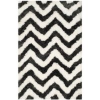 Safavieh Barcelona 3-Foot x 5-Foot Shag Rug in Graphite