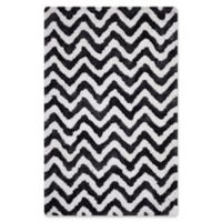 Safavieh Barcelona 5-Foot x 8-Foot Shag Rug in Graphite