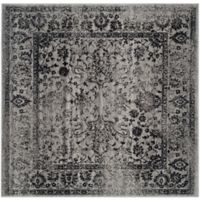 Safavieh Adirondack 4-Foot Square Accent Rug in Black