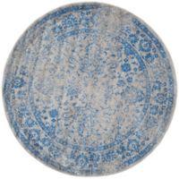 Safavieh Adirondack 10-Foot Round Area Rug in Blue