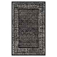 Safavieh Adirondack 2-Foot 6-Inch x 4-Foot Accent Rug in Black