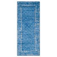 Safavieh Adirondack 2-Foot 6-Inch x 6-Foot Runner in Blue