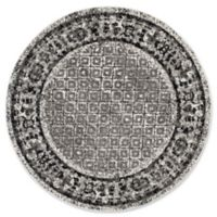 Safavieh Adirondack 6-Foot Round Area Rug in Ivory