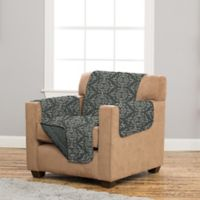 Great Bay Home Kingston Chair Protector in Charcoal