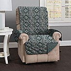 Great Bay Home Kingston Recliner Protector in Charcoal