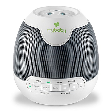 Homedics mybaby lullaby soundspa with image projection in for Bathroom noise maker