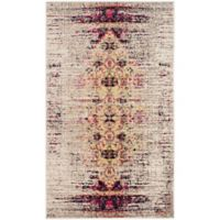 Safavieh Monaco Timeo 3-Foot x 5-Foot Area Rug in Ivory/Pink