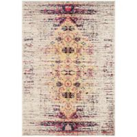 Safavieh Monaco Timeo 4-Foot x 5-Foot 7-Inch Area Rug in Ivory/Pink