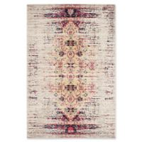 Safavieh Monaco Timeo 5-Foot 1-Inch x 7-Foot 7-Inch Area Rug in Ivory/Pink