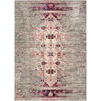 Safavieh Monaco Timeo 6-Foot 7-Inch x 9-Foot 2-Inch Area Rug in Grey/Ivory
