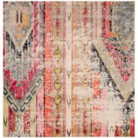 Safavieh Monaco Nayva 5-Foot Square Area Rug in Light Grey