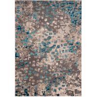 Safavieh Monaco Watercolor 4-Foot x 5-Foot 7-Inch Area Rug in Grey/Light Blue