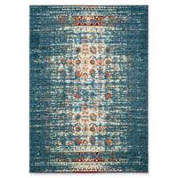 Safavieh Monaco Abstract 5-Foot 1-Inch x 7-Foot 7-Inch Area Rug in Blue/Ivory