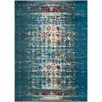 Safavieh Monaco Abstract 8-Foot x 11-Foot Area Rug in Blue/Ivory
