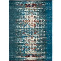 Safavieh Monaco Abstract 9-Foot x 12-Foot Area Rug in Blue/Ivory