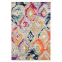 Safavieh Monaco Ogee 4-Foot x 5-Foot 7-Inch Multicolor Area Rug