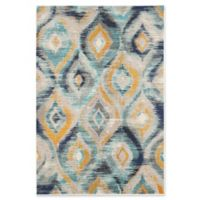 Safavieh Monaco Ogee 5-Foot 1-Inch x 7-Foot 7-Inch Area Rug in Blue
