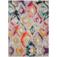 Safavieh Monaco Ogee 8-Foot x 10-Foot Multicolor Area Rug