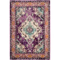 Safavieh Monaco Vintage Bohemian 2-Foot 2-Inch x 4-Foot Accent Rug in Violet/Light Blue