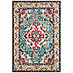 Safavieh Monaco Vintage Bohemian 8-Foot x 10-Foot Area Rug in Light Blue/Fuchsia