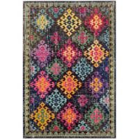 Safavieh Monaco Patchwork 4-Foot x 5-Foot 7-Inch Multicolor Area Rug