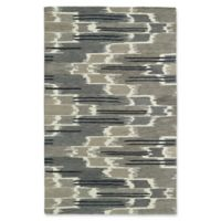 Kaleen Global Inspirations Watercolor Ikat 9-Foot x 12-Foot Area Rug in Grey