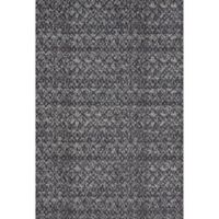Feizy Settat Ikat 10-Foot x 13-Foot 2-Inch Rug in Black/Dark Grey