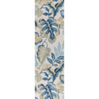 KAS Coral Exotics 2-Foot 3-Inch x 7-Foot 6-Inch Runner in Ivory