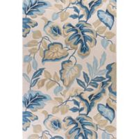 KAS Coral Exotics 3-Foot 3-Inch x 5-Foot 3-Inch Runner in Ivory